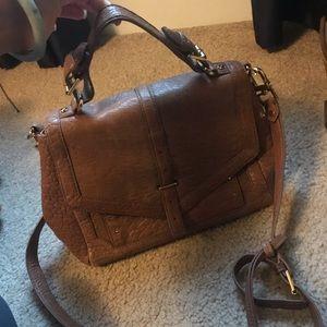 Tory Burch pebble leather bag